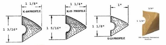Pool Table Rail Cushion Profile Diagram | moneymachines.com
