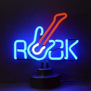 ROCK WITH GUITAR NEON SCULPTURE – 4ROCKX | moneymachines.com