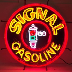 SIGNAL GASOLINE NEON SIGN – 5GSSIG | moneymachines.com