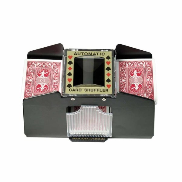 Casino 1-4 Deck Automatic Card Shuffler For Poker Games by Fat Cat - 55-0112 | moneymachines.com
