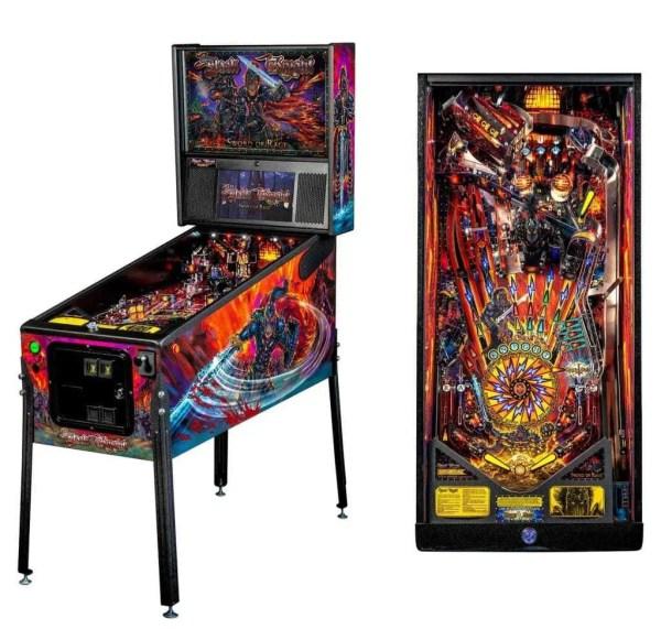 Stern Black Knight Sword Of Rage Premium Pinball Game Machine | moneymachines.com