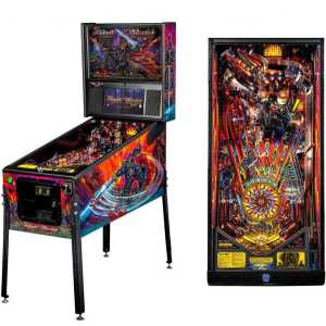 Stern Black Knight Sword Of Rage Premium Pinball Game Machine | moneymachines.com