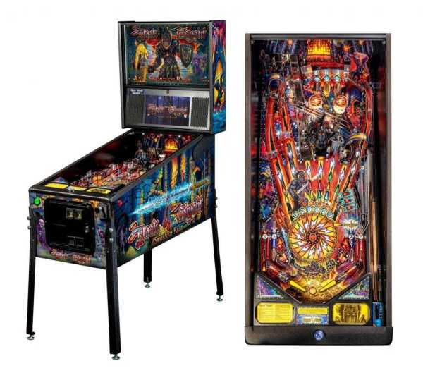 Stern Black Knight Sword Of Rage Pro Pinball Game Machine   moneymachines.com