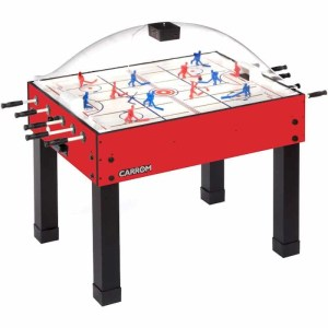 Carrom Super Stick Hockey Table - 417.00 Red | moneymachines.com