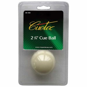 Cuetec 2 1/4 Inch Billiard Cue Ball | moneymachines.com