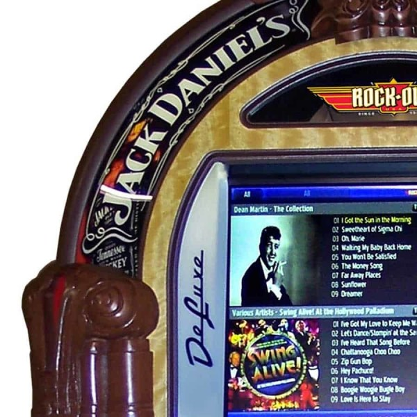 Jack Daniels Jukebox Upper | moneymachines.com