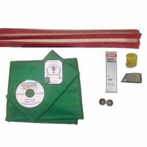 Pool Table Recovering and Refelting Kit Proline Classic 303 Dark Green | moneymachines.com