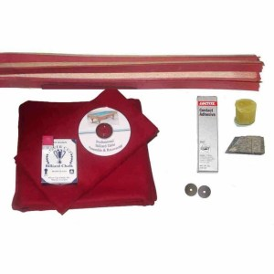 Proline Classic 303 Burgundy Pool Table Recovering and Refelting Kit | moneymachines.com