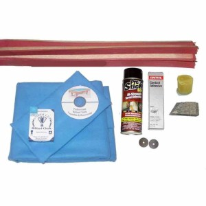 Proline Classic 303 Electric Blue Pool Table Recovering and Refelting Kit | moneymachines.com