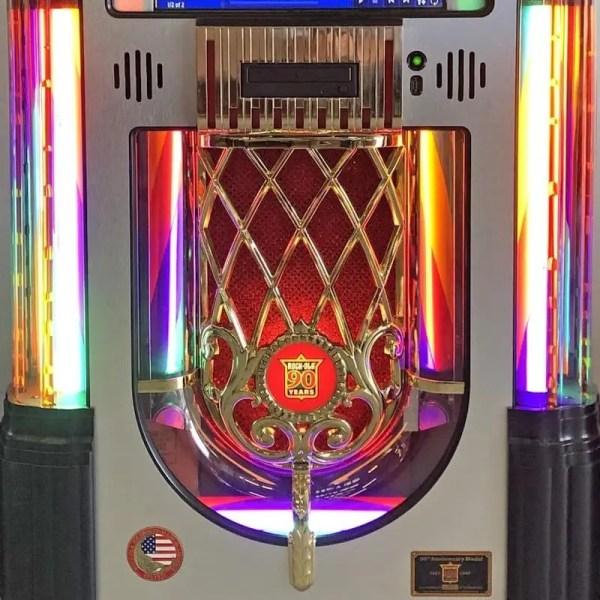 Rock-Ola Bubbler Digital 90th Anniversary Jukebox | moneymachines.com