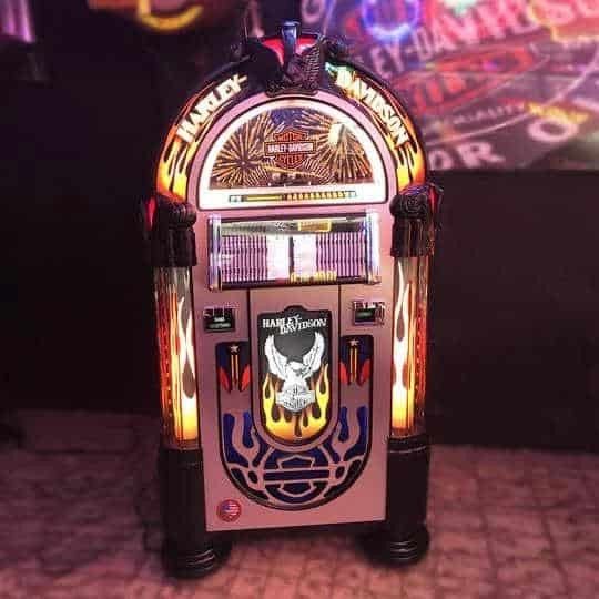 Rock-Ola Bubbler Harley-Davidson CD Jukebox | moneymachines.com