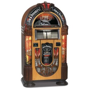 Rock-Ola Bubbler Jack Daniels CD Jukebox | moneymachines.com