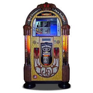 Rock-Ola Bubbler Jack Daniels Music Center Jukebox J-70411-A | moneymachines.com