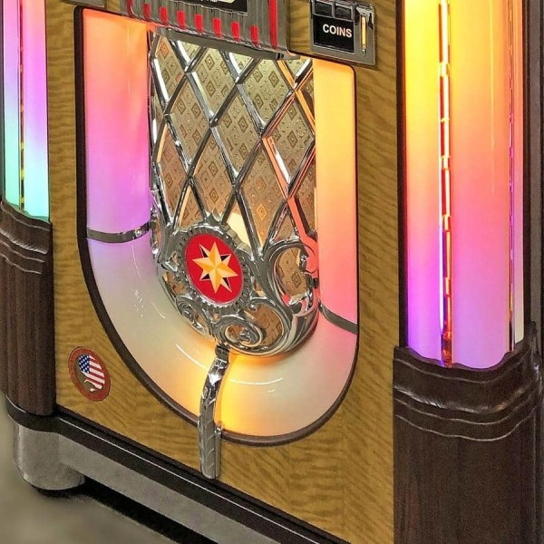 Rock-Ola Vinyl 45 RPM Jukebox Bottom | moneymachines.com