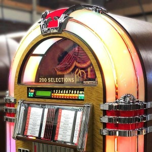 Rock-Ola Vinyl 45 RPM Jukebox Top | moneymachines.com