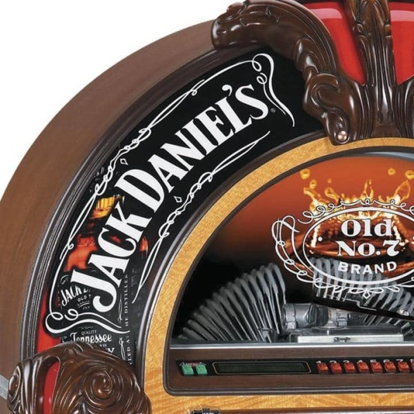 Rockola Jack Daniels Jukebox upper | moneymachines.com