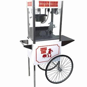 Paragon Kettle Korn 6 Ounce Popcorn Machine and Cart Combo | moneymachines.com