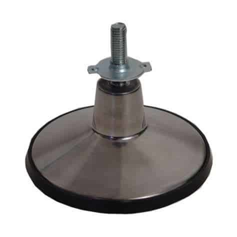 Pool Table 6 Inch Cast Aluminum Leg Leveler Foot | moneymachines.com