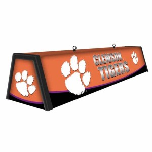 """Clemson Tigers College 44"""" Victory Game Table Lamp   moneymachines.com"""