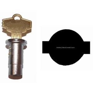 Lock and Key For Triple Play Gumball Machine | moneymachines.com