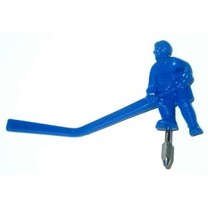 Carrom Stick Hockey Table Blue Long Stick Man Player | moneymachines.com