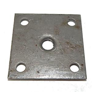 "Heavy Duty Leg Leveler Mounting Plate For Pool Tables - 1/2"" x 13 Thread 