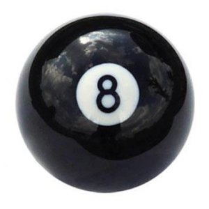 New Individual Number Eight (8) Billiard Pool Ball   moneymachines.com