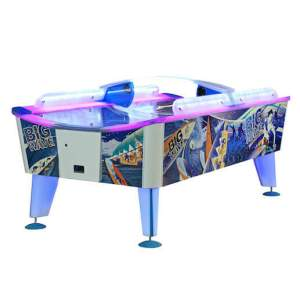 Big Wave Coin Operated Weatherproof Outdoor Air Hockey Table | moneymachines.com
