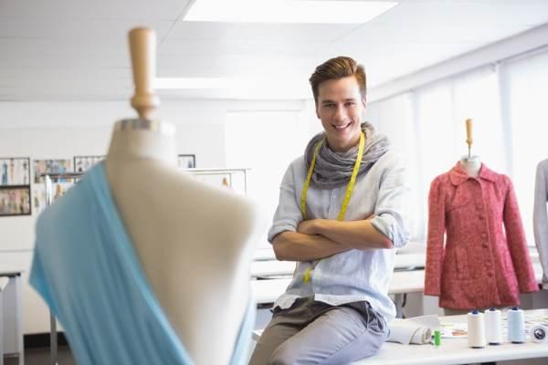 Male fashion student