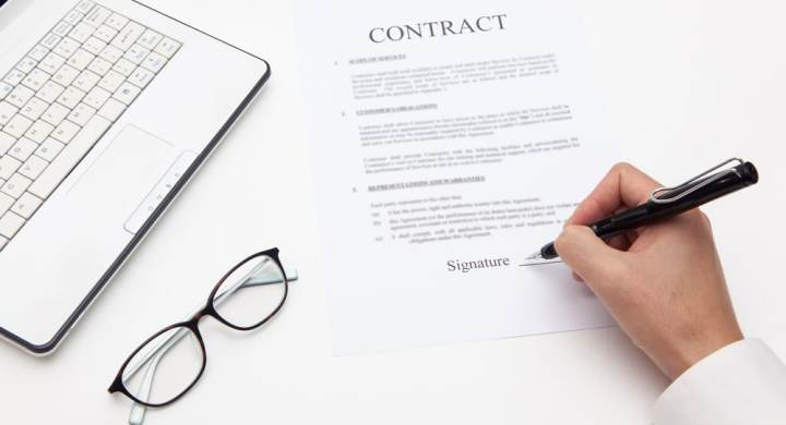 A pre-nuptial agreement is a contract signed before you get married