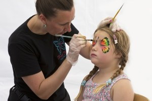 Make money face painting