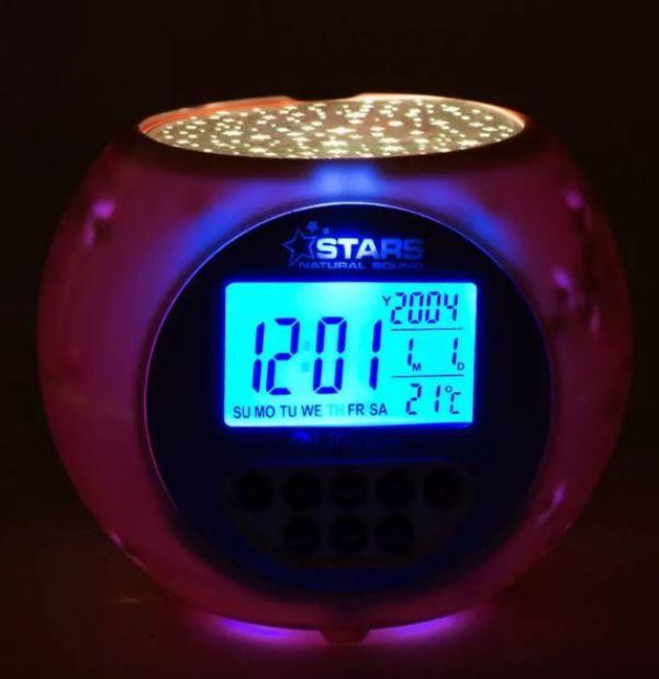 Star Projection Alarm Clock