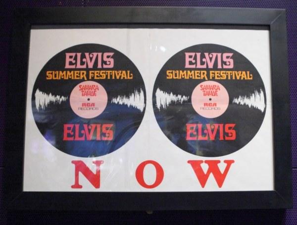 Elvis Concert Poster