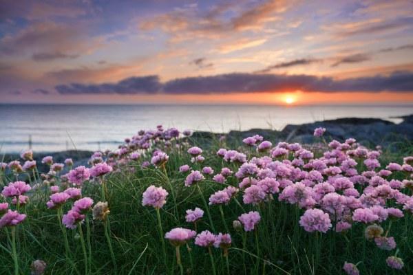 Sunset Outer Hebrides, Scotland