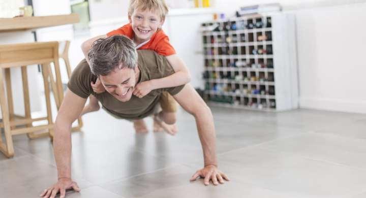 father son exercise