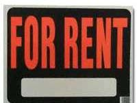 For rent sign.240x180