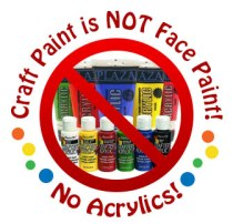craft-paint-is-not-face-paint