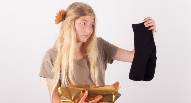 How sell unwanted christmas presents - socks