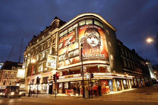Les Misrables on broadway