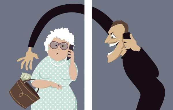 Elderly cold caller victim