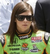 Race car driver Danica Patrick, one of the top 10 richest sportswomen in the world