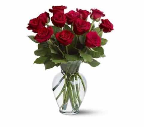A Dozen Roses from Flowers Delivery 4 U (43% Off)