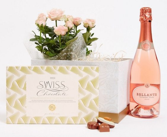 M&S Valentines Gift Box