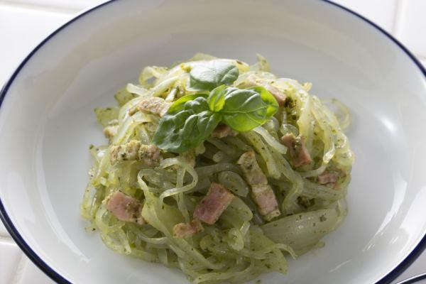 Seaweed Pasta Carbonara