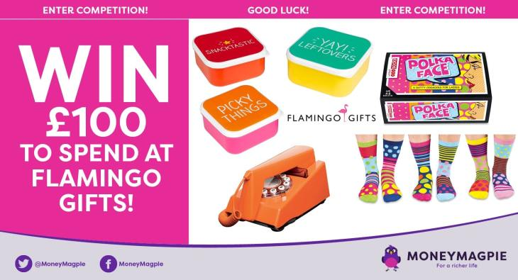 Win £100 to spend at Flamingo Gifts
