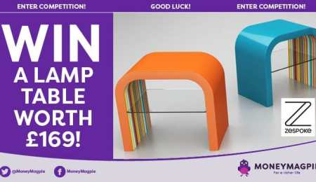 Win a lamp table worth £169