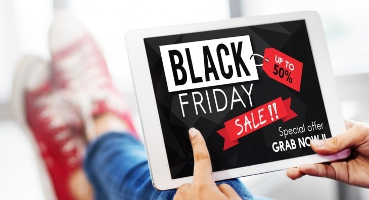 Black Friday Sale on Tablet