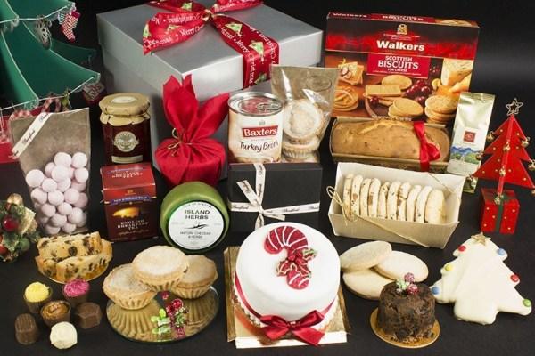 Bradford Bakers Santa's Treat Box