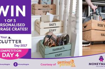 Day 4 - Win 1 of 3 personalised storage crates