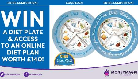 Win a diet plate and access to...